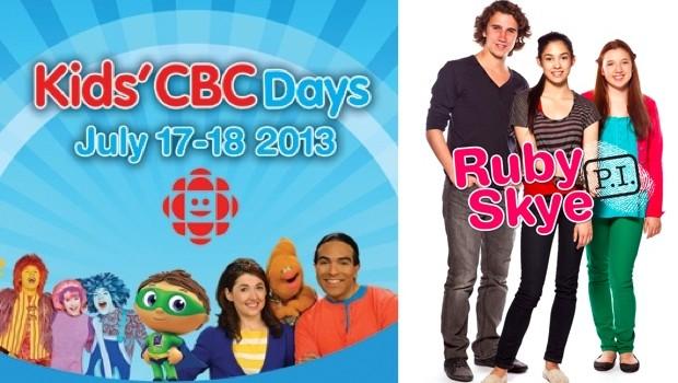 Ruby skye PI at Kids CBC Days
