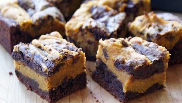 Pumpkin Swirl Brownies | Ruby Skye PI