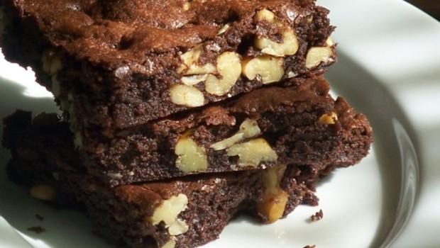 Walnut Brownies | Ruby Skye PI