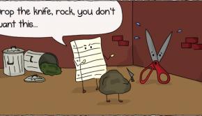 Rock Paper Scissors Alley