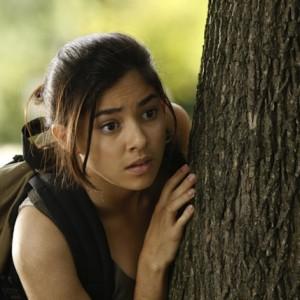 Ruby Hiding Behind Tree   Ruby Skye PI