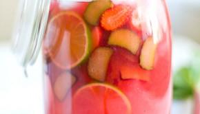 Rhubarb-Lemonade